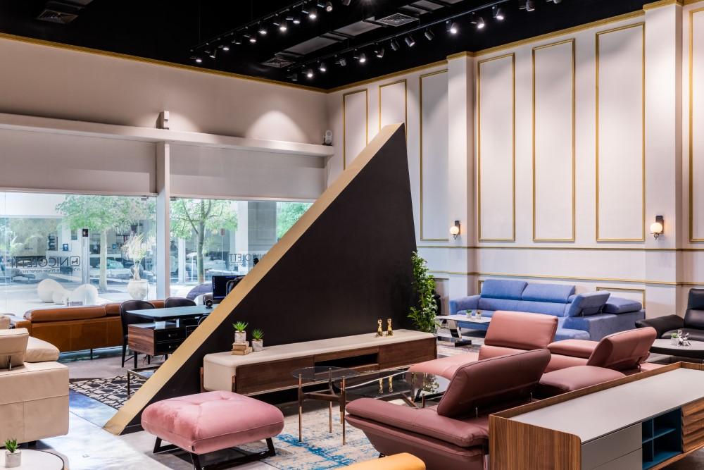 עיצוב חנות רהיטים