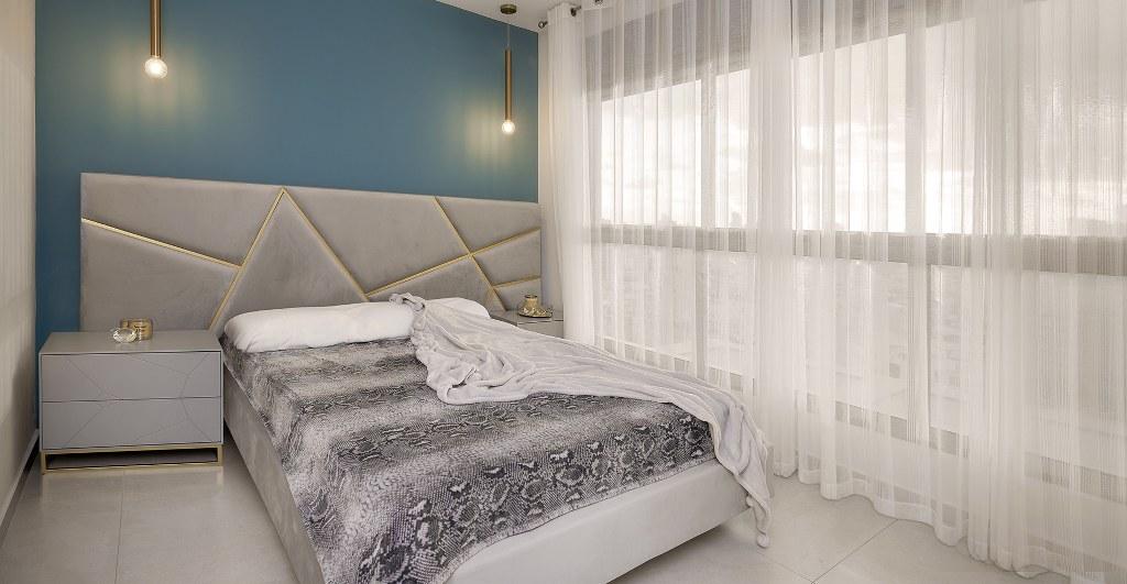 עיצוב פנים מודרני חדר שינה